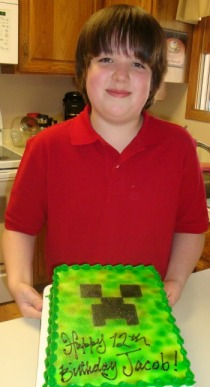 Combining fun food AND minecraft. Win!